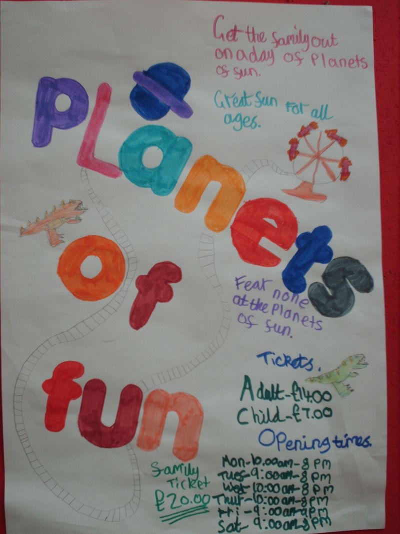 Planets of Fun Poster
