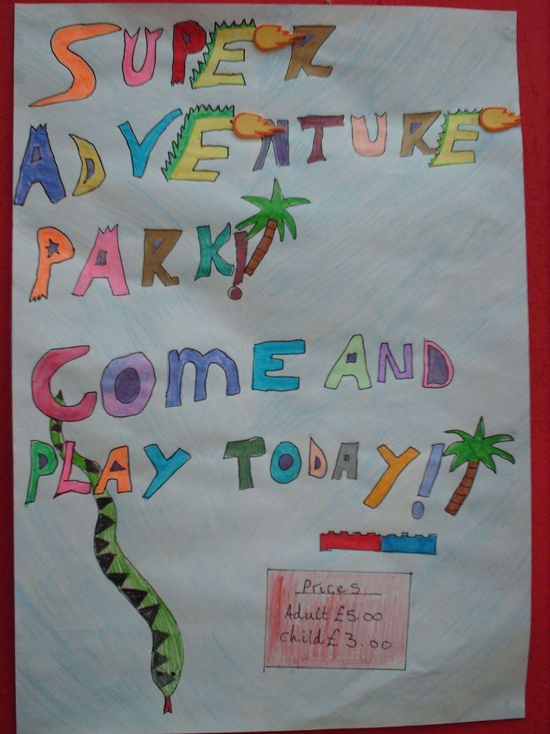Super Adventure Park Poster